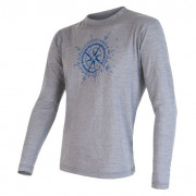 Pánske tričko Sensor Merino Wool PT Kompas dl.r.