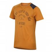 Pánske funkčné tričko Husky Merino 100 Kr. rukáv Wolf