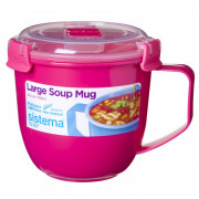 Hrnček Sistema Microwave Large Soup Mug Color