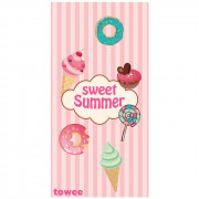 Rýchloschnúci osuška Towee Sweet Summer 80x160 cm