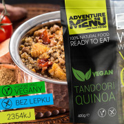 Adventure Menu Tandoori Quinoa (vegan)