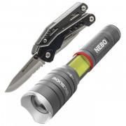 Set multitool True Utility Handyone + svítilna Nebo Tac Slyde