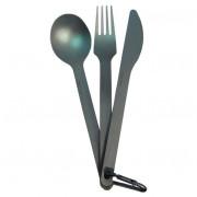 Súprava príborov Sea to Summit Titanium Cutlery 3ks