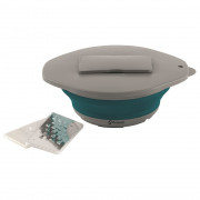 Vystavená misa Outwell Collaps Bowl and Lid with Grater