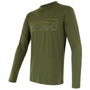 Pánske tričko Sensor Merino Wool Active PT Track dl.r.