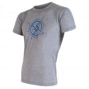 Pánské tričko Sensor Merino Wool PT Kompas