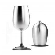 Sklenička GSI Glacier Stainless Nesting Wine Glass