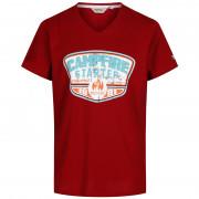 Pánske tričko Regatta Calton červená