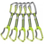 5x expresky Climbing Technology Lime NY 12cm Green / Grey