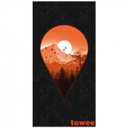 Rýchloschnúci osuška Towee Next Destination 80x160 cm
