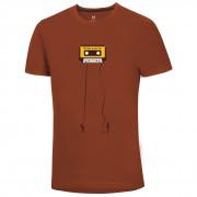 Pánske tričko Ocún Classic Tape Men Retro Tape Rooibos