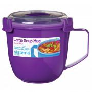 Hrnček Sistema Microwave Large Soup Mug Color