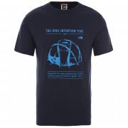 Pánske tričko The North Face M S/S Graphic Tee Urban Navy