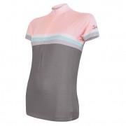Dámsky cyklistický dres Sensor Cyklo Summer Stripe