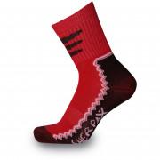 Detské ponožky Sherpax Laudo light červené