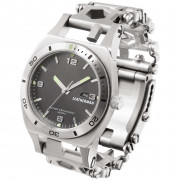 Multifunkčná náramok s hodinkami Leatherman Tread Tempo Silver