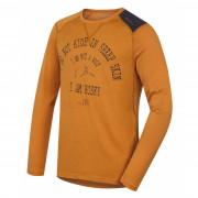 Pánske funkčné tričko Husky Merino 100 dl. rukáv Wolf