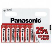 Batéria Panasonic Zinc D AA / 10