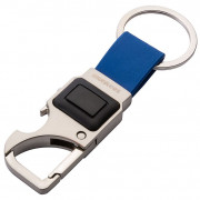Munkees kľúčenka s 3 funkciami - karabínka, otvárač fliaš, LED svietidlo