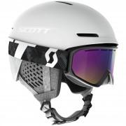 Lyžiarsky set Scott Combo Helmet Track + Goggle Fact