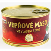 Bravčové mäso vo vlastnej šťave Veseko 400 g