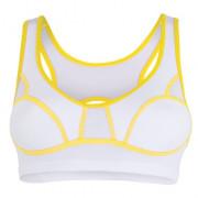 Podprsenka Sensor Lissa biela / žltá
