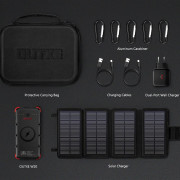 Set solárne nabíjačky a powerbanky Outxe W20 Outdoor Charger Kit