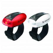 Sada svetiel Sigma Micro červená + biela