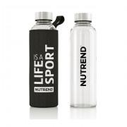 Športová fľaša Nutrend Skleněná s termoobalem