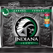 Sušené mäso Indiana Jerky Morčacie Original 60 g