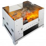 Nerezový gril na drevené uhlie Esbit BBQ 300S