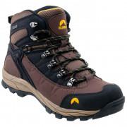 Pánské topánky Elbrus Talon Mid WP dark brown