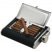Placátka Cattara 175ml s puzdrom na cigary