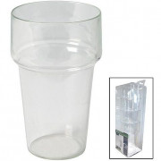 Pivné poháre Bo-Camp s rozšíreným okrajom 4ks