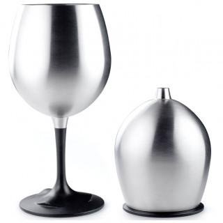 Pohárik GSI Glacier Stainless Nesting Red Wine Glass