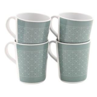 Sada hrnčekov Outwell Blossom Mug set 4pcs.
